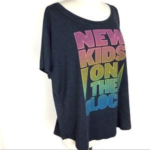 New Kids on the Block Graphic T-Shirt, XXL